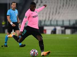 Fati's injury could be a chance for Dembélé. AFP