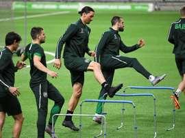 Emil Roback aterriza en el Milan. AFP