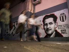 Les supporters serbes ne sont pas tous violents. AFP