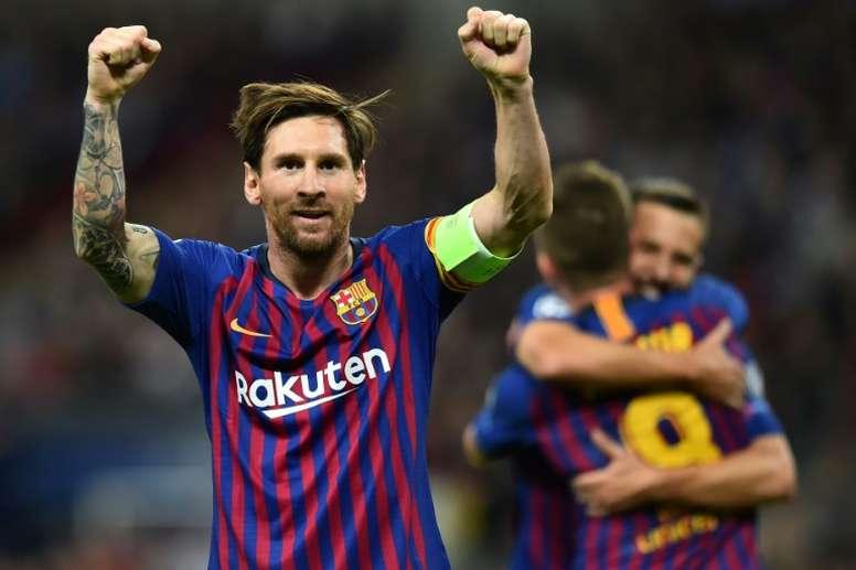La vida de Messi será llevada al circo. AFP