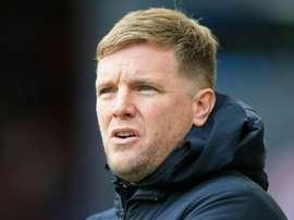 Eddie Howe, coach de Bournemouth, accepte une baisse de salaire. AFP