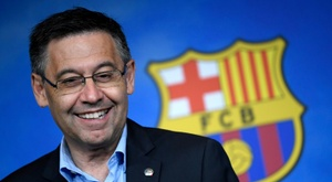 Josep Maria Bartomeu is open to resigning if the vote calls for it. AFP