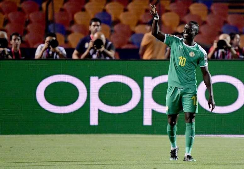 Sadio Mané, en la mejor campaña de su vida. AFP