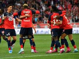 Les compos probables du match de Ligue 1 entre Rennes et Lille. AFP