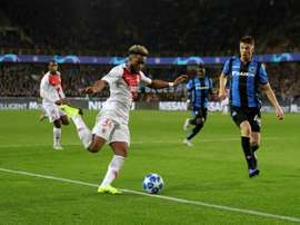 Monaco reçoit Bruges. AFP
