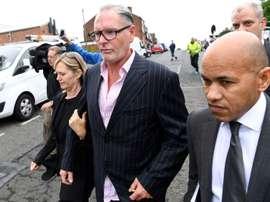 Paul Gascoigne a été jugé pour agression sexuelle. AFP