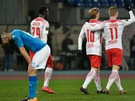 Europa League: Naples tout près de la sortie