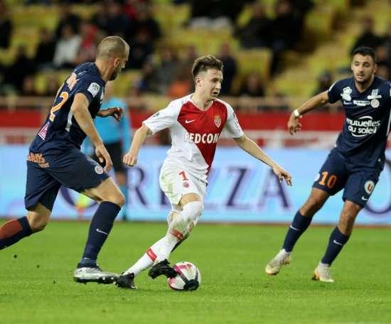 Montpellier renverse Monaco. AFP