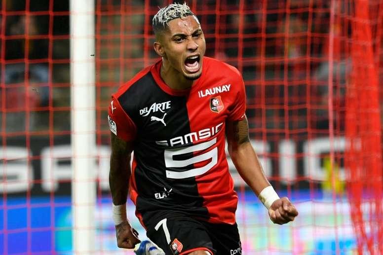 Les compos probables du match de Ligue 1 entre Rennes et Brest. AFP