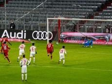 Le Bayern se rebiffe, Lewandowski hors concours. AFP