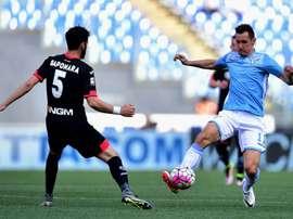 Riccardo Saponara podría cambiar de equipo en Italia. AFP