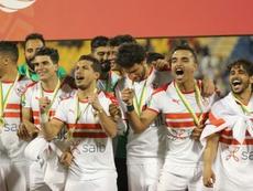 Quatrième titre pour le Zamalek, vainqueur de l'Espérance Tunis. AFP