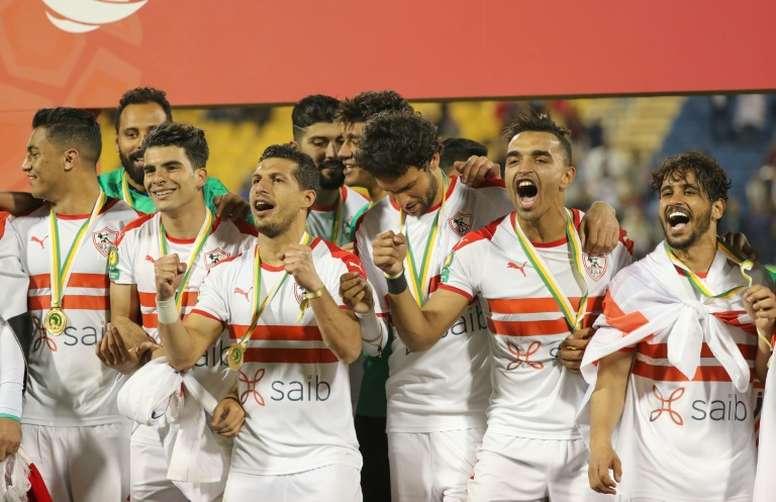 Egipto descarta finalizar la temporada. AFP