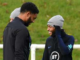Altercation en équipe d'Angleterre: Sterling emporté par ses émotions. AFP
