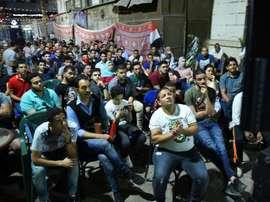 Une génération de supporters égyptiens sacrifiée. AFP