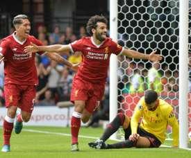 Prováveis escalações de Southampton e Liverpool. AFP