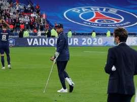 Mbappé in dubbio per la Champions. AFP