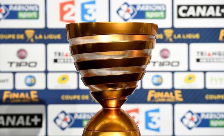 Francia anuncia la suspensión de la Copa de la Liga. AFP
