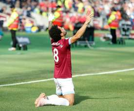 Felipe Anderson scored to earn the Hammers a point. AFP