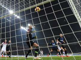 L'Inter battu. AFP