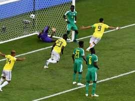 Triste pour l'Afrique. AFP