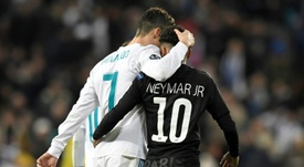 Neymar has reportedly told his friends he wants to leave PSG. AFP