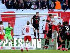 Leipzig laisse s'envoler le Bayern, nouvelles banderoles injurieuses. AFP