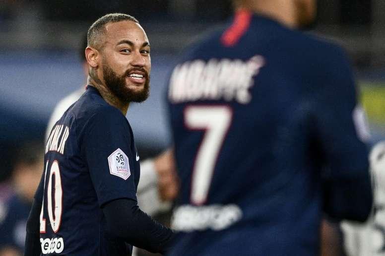 Neymar à Paris jusqu'en juin 2025 ? AFP