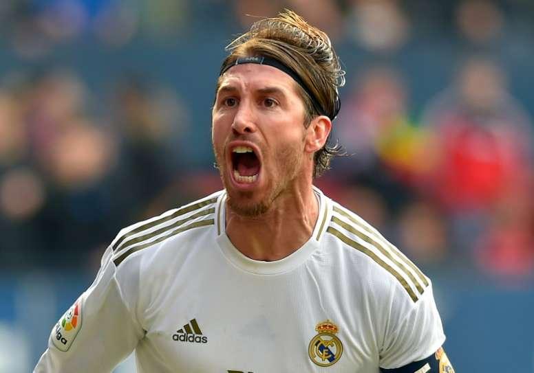 Ramos acaba contrato en 2021. AFP