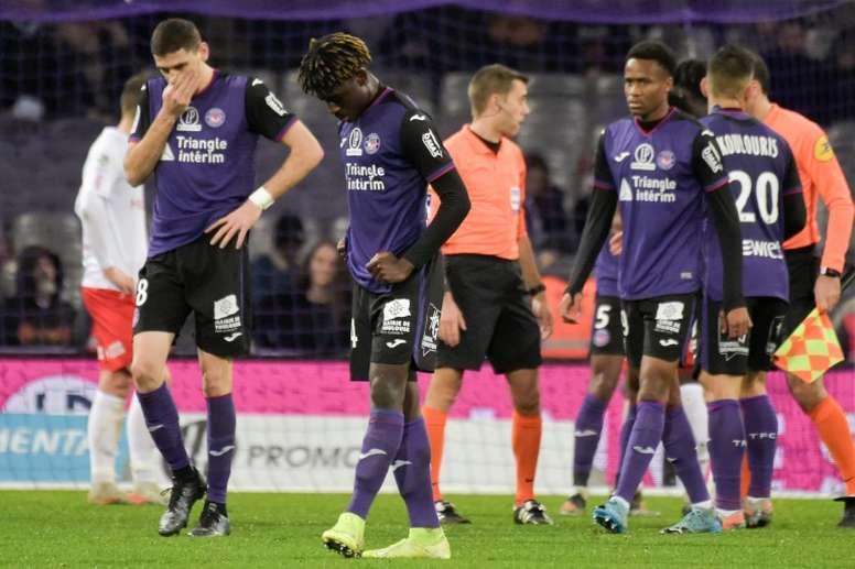 Les compos probables du match de Ligue 1 entre Toulouse et Brest. AFP