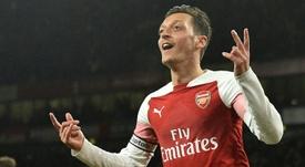 Mesut Ozil fera ses adieux à ses coéquipiers ce dimanche. AFP