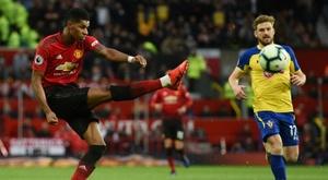 Southampton e United,  onzes iniciais confirmados. AFP