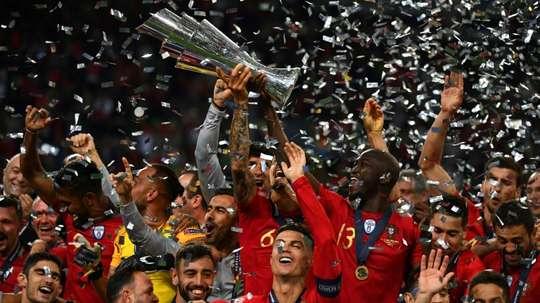 Fernando Gomes évoque le futur du football. AFP