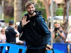 Fernando Llorente will not be staying on at Tottenham Hotspur. AFP