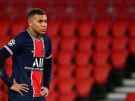 Mbappé's future is anything but certain. AFP