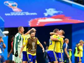 Forsberg qualifie la Suède. AFP