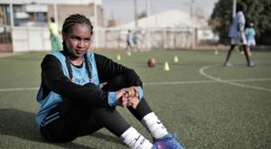 Le Soudan lancera sa première ligue féminine de foot en septembre. AFP