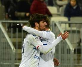 Tras ganar al PSG, el Estrasburgo tomó Burdeos. AFP