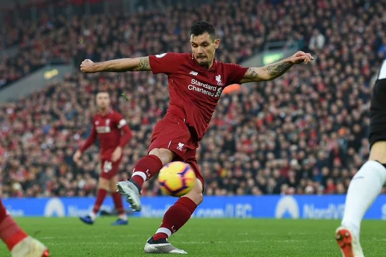 Dejan Lovren could be on the verge of joining Milan. AFP