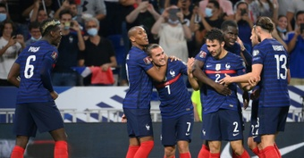 L'équipe de France se reprend face à la Finlande. AFP