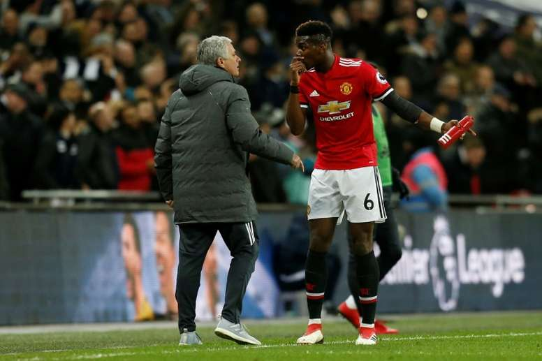 Jose Mourinho might be open to selling Paul Pogba for the right deal. AFP