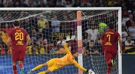 El Genoa amarga el estreno de la Roma. AFP