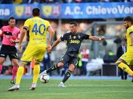 Compos probables Juventus-Chievo Vérone. AFP