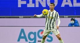 Ronaldo porta in vantaggio la Juve. AFP