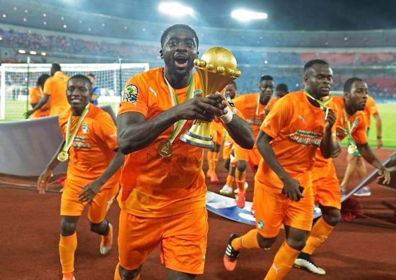 Kolo Touré encense Yaya Touré. afp