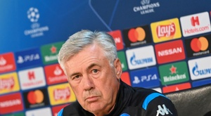 Ancelotti's first words after being sacked. AFP