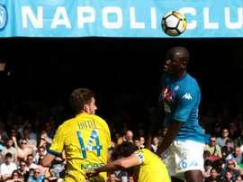 Napoli are still in the title race. EFE