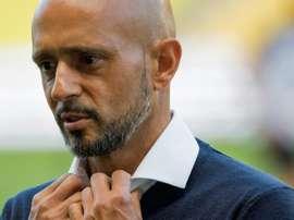 El pasado de Cardoso, nuevo técnico del Celta. AFP