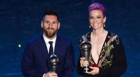 La FIFA reporte la cérémonie des The Best. AFP