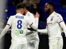 Lyon have set Aouar's price. AFP